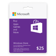 Windows Phone Store Gift Card (US) 25$ | сервис uplata.ua